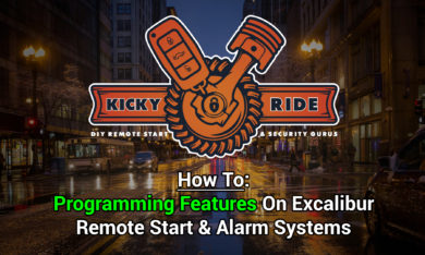 How To Program Excalibur System Features