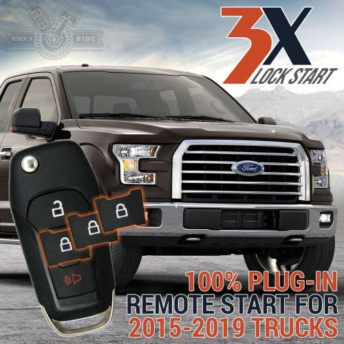 2015-19 F-Series Ford Truck Plug-In Remote Start Kit