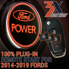 2014-19 Ford Plug-In Remote Start Kit